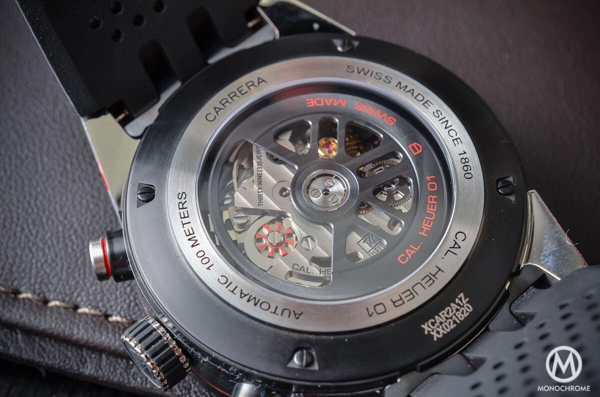 TAG Heuer Carrera Heuer-01 Baselworld 2015 - 4