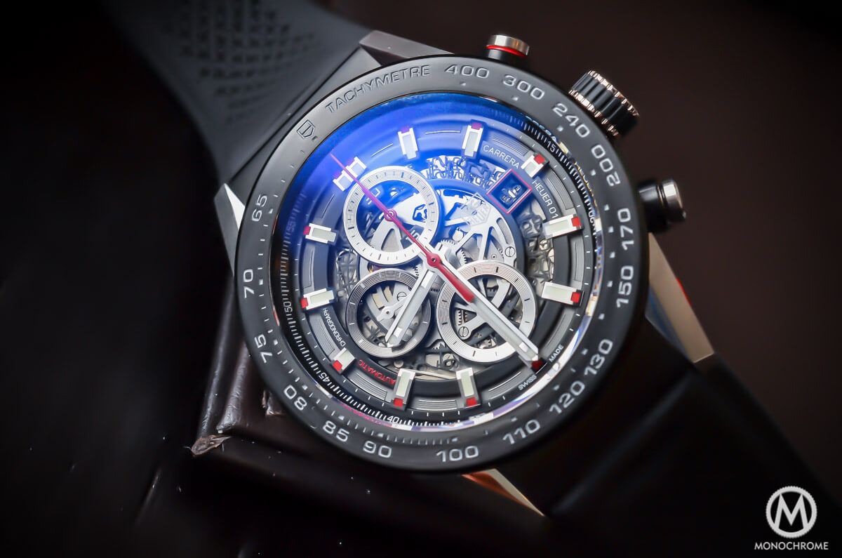 This Tag: A Look At The TAG Heuer Carrera Calibre Heuer 01 (Specs