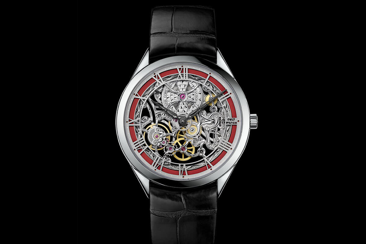 VACHERON CONSTANTIN METIERS D'ART MECANIQUES AJOUREES Only Watch 2015