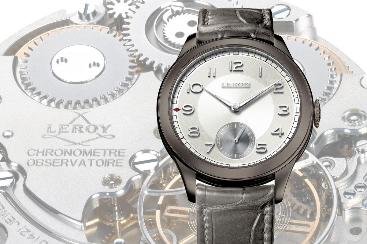 Leroy Chronomètre Observatoire only watch 2015
