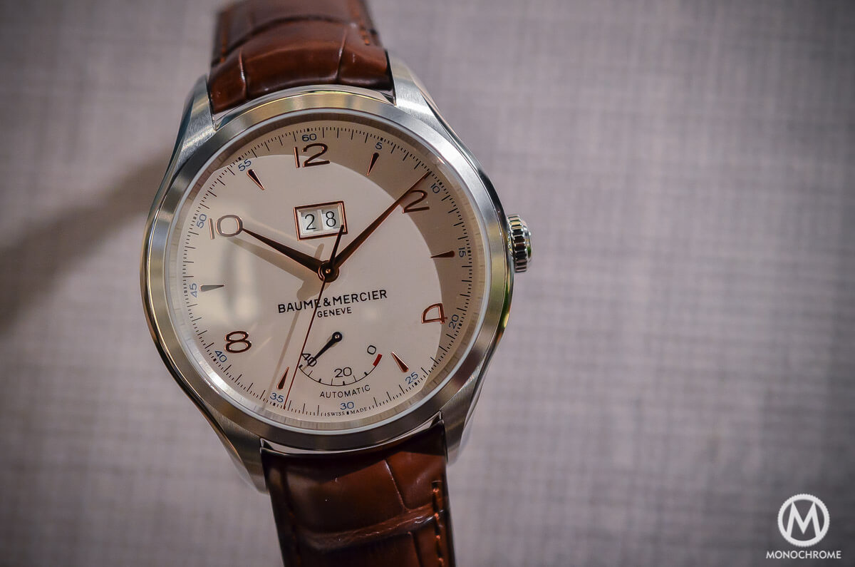 Baume Mercier Clifton Automatic Big Date and Power Reserve -3