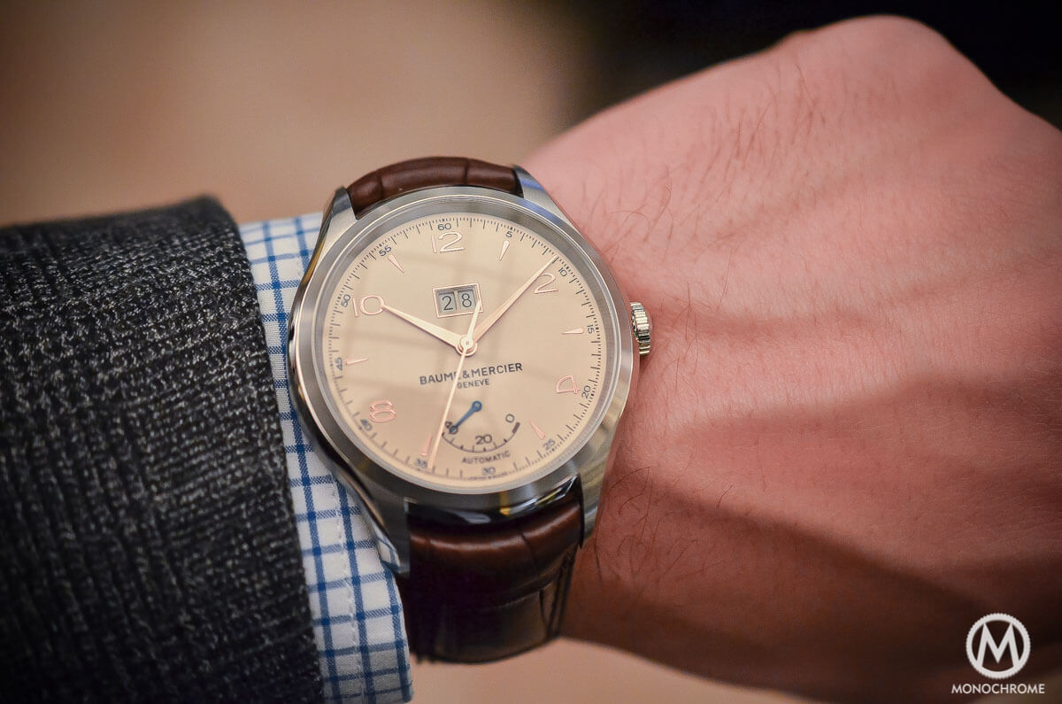 Baume Mercier Clifton Automatic Big Date and Power Reserve -5