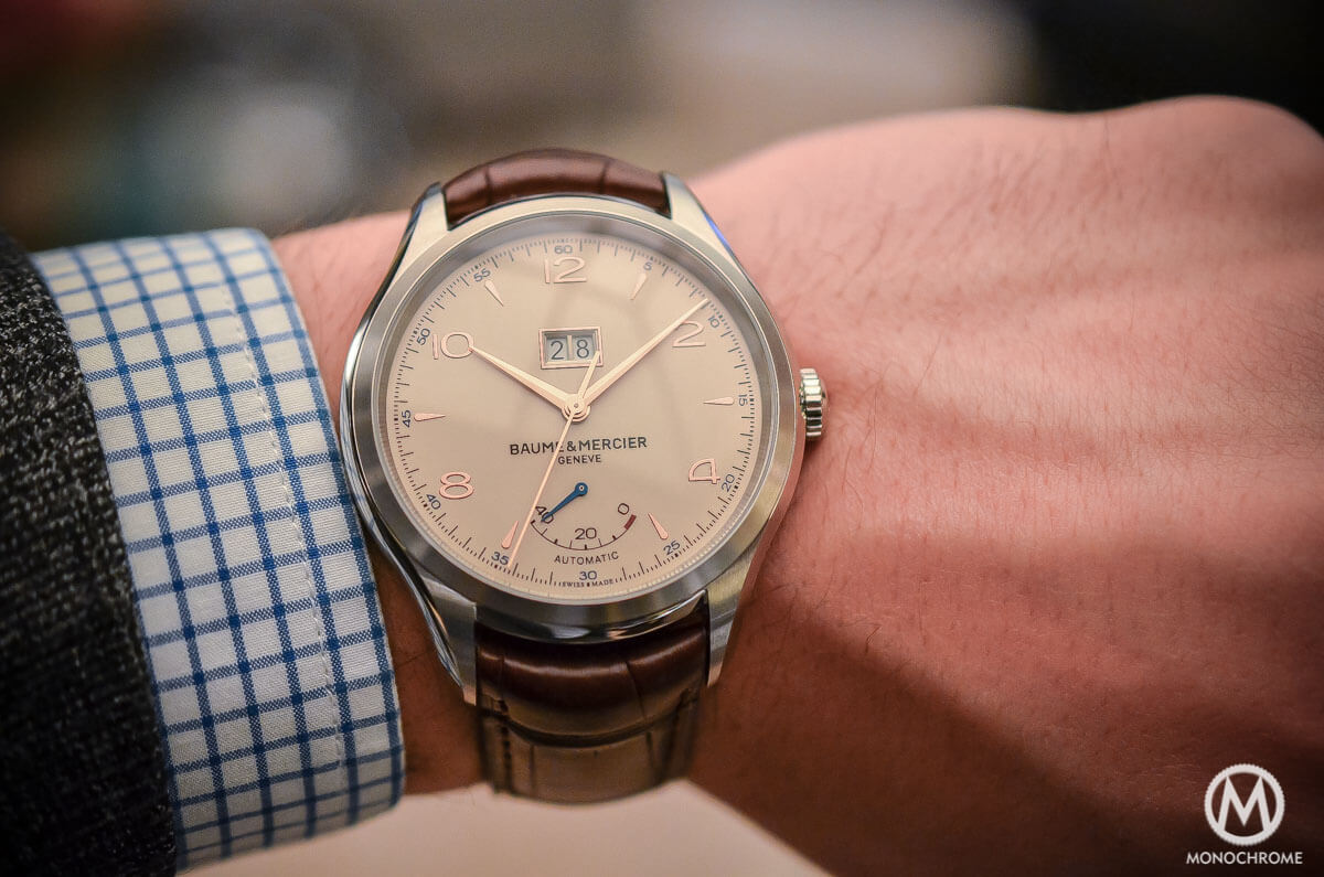 Baume Mercier Clifton Automatic Big Date and Power Reserve -6