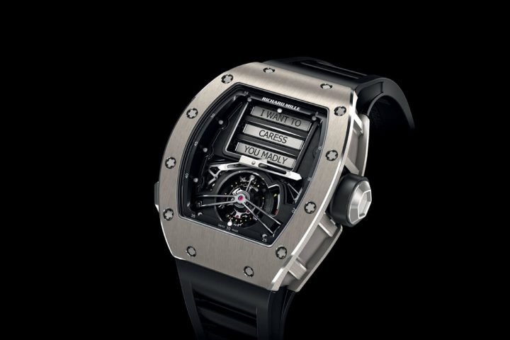 Richard Mille RM 69 Erotic Tourbillon