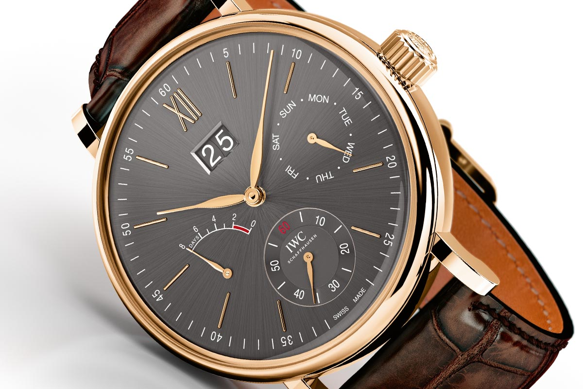 Introducing The Iwc Portofino Hand Wound Day Amp Date