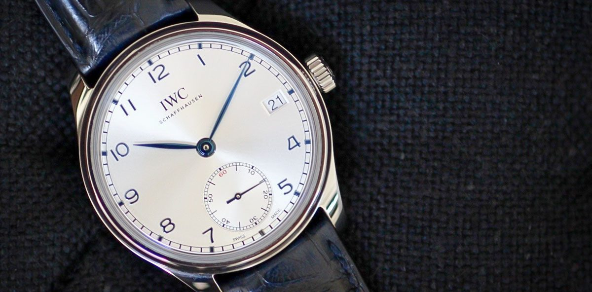 Hands-On with the IWC Portugieser Hand-Wound Eight Days ...