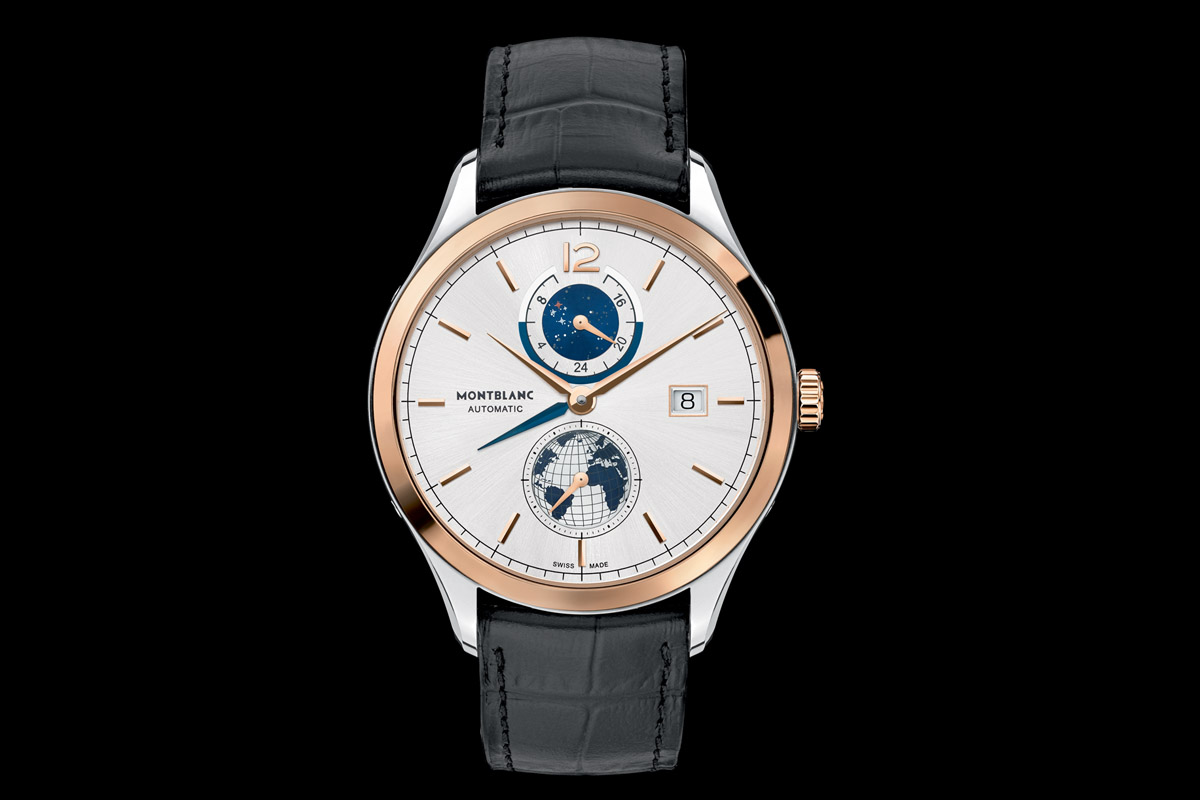 Introducing the montblanc heritage chronom trie dual time vasco da gama limited edition 238 for Vasco watches