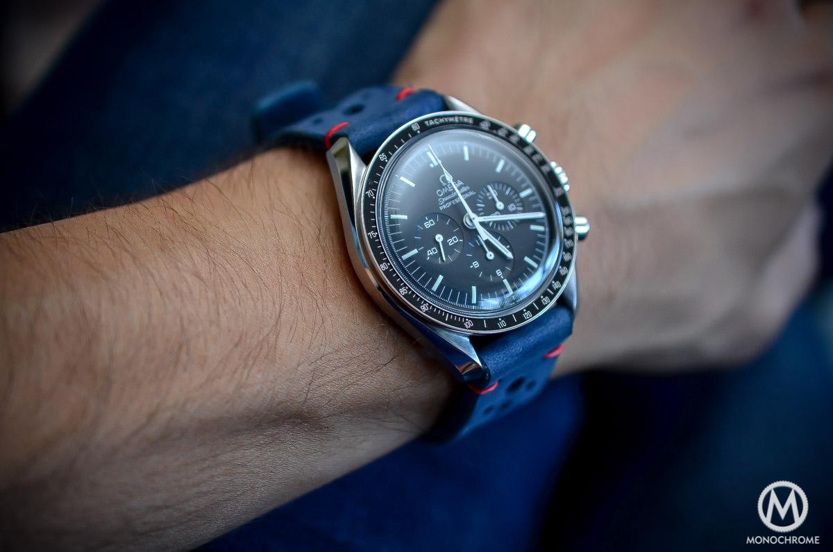 Omega Speedmaster On Wrist