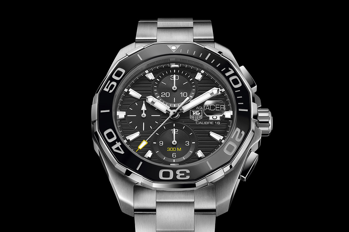 Tag heuer fortifies the aquaracer 300m with a ceramic bezel specs price monochrome watches for Tag heuer aquaracer 300m