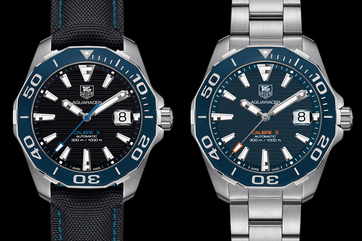 Tag: TAG Heuer Fortifies The AQUARACER 300M With A Ceramic