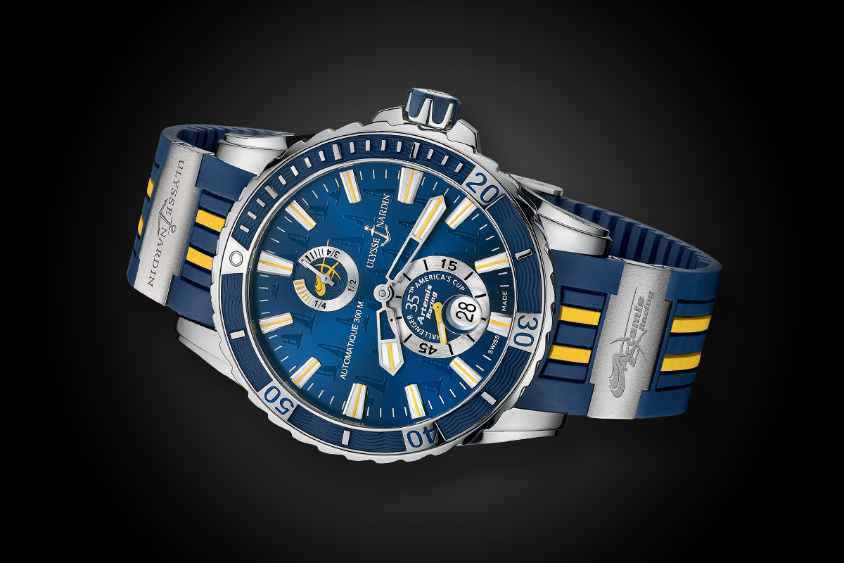 Ulysse Nardin Marine Diver Artemis Racing replica watch