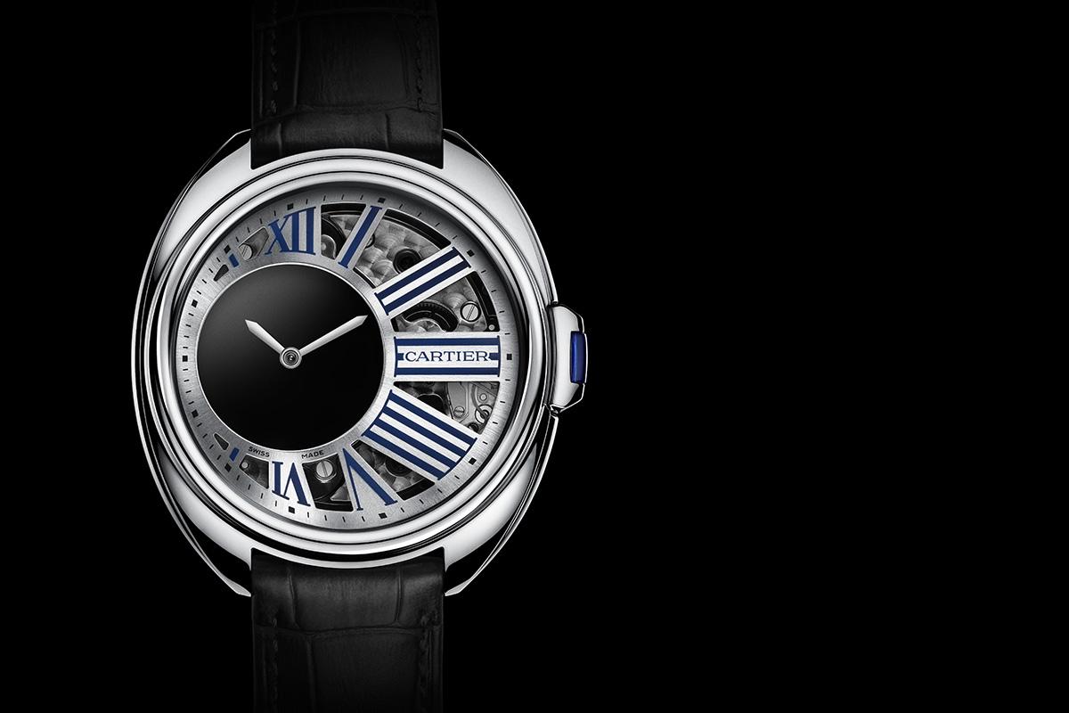 Clé de Cartier Mysterious Hour Palladium