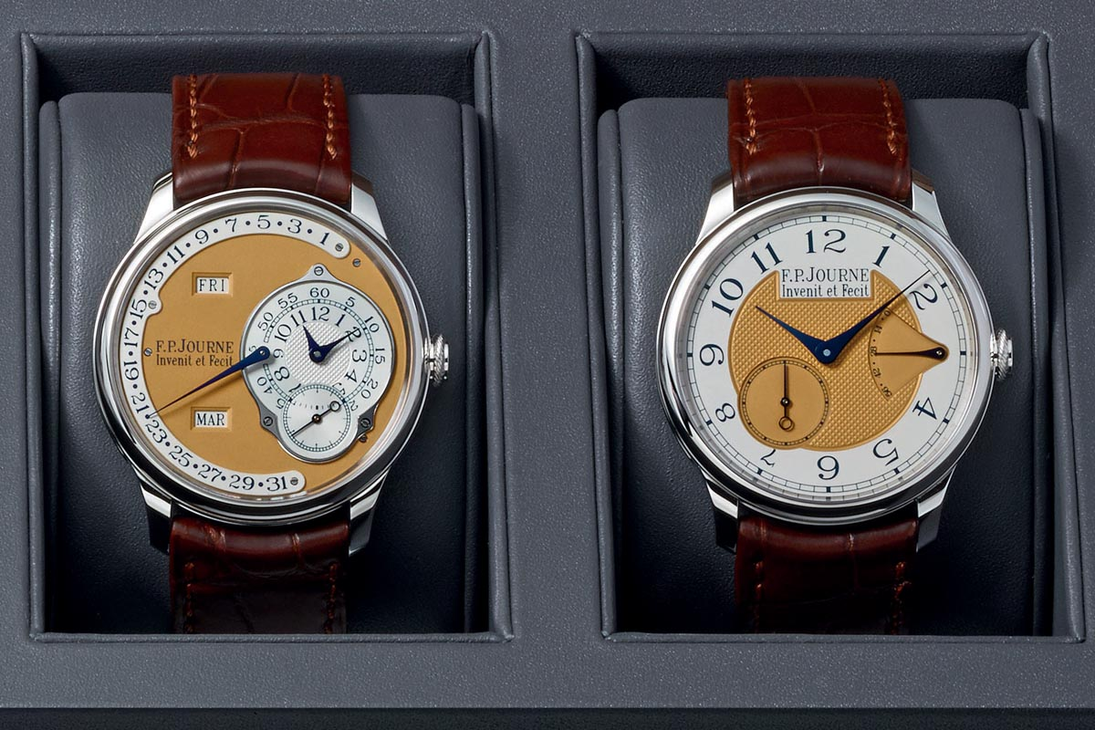 FP Journe Steel 38mm Final Edition Octa Calendrier Annuel - Chronometre Souverain