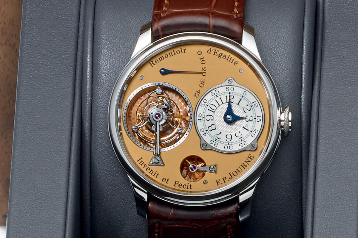 FP Journe Steel 38mm Final Edition Tourbillon Souverain