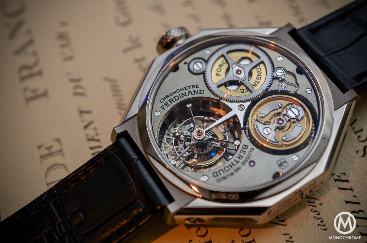 Grand Prix d'Horlogerie de Genève : L'Aiguille d'Or pour Ferdinand Berthoud Ferdinand-Berthoud-Chronometre-FB-1-fusee-chain-close-up