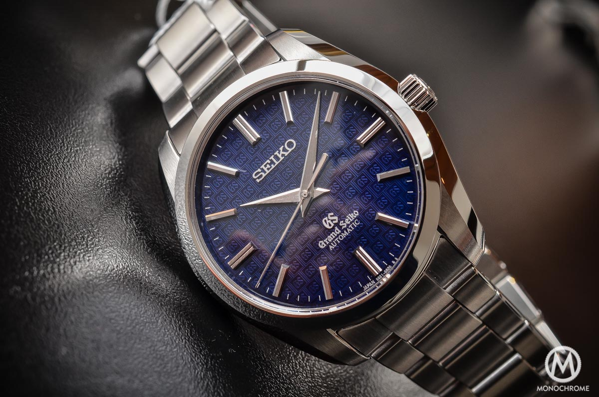 Grand Seiko SBGR097 Limited Edition Automatic 9S61 42mm Blue dial - cover