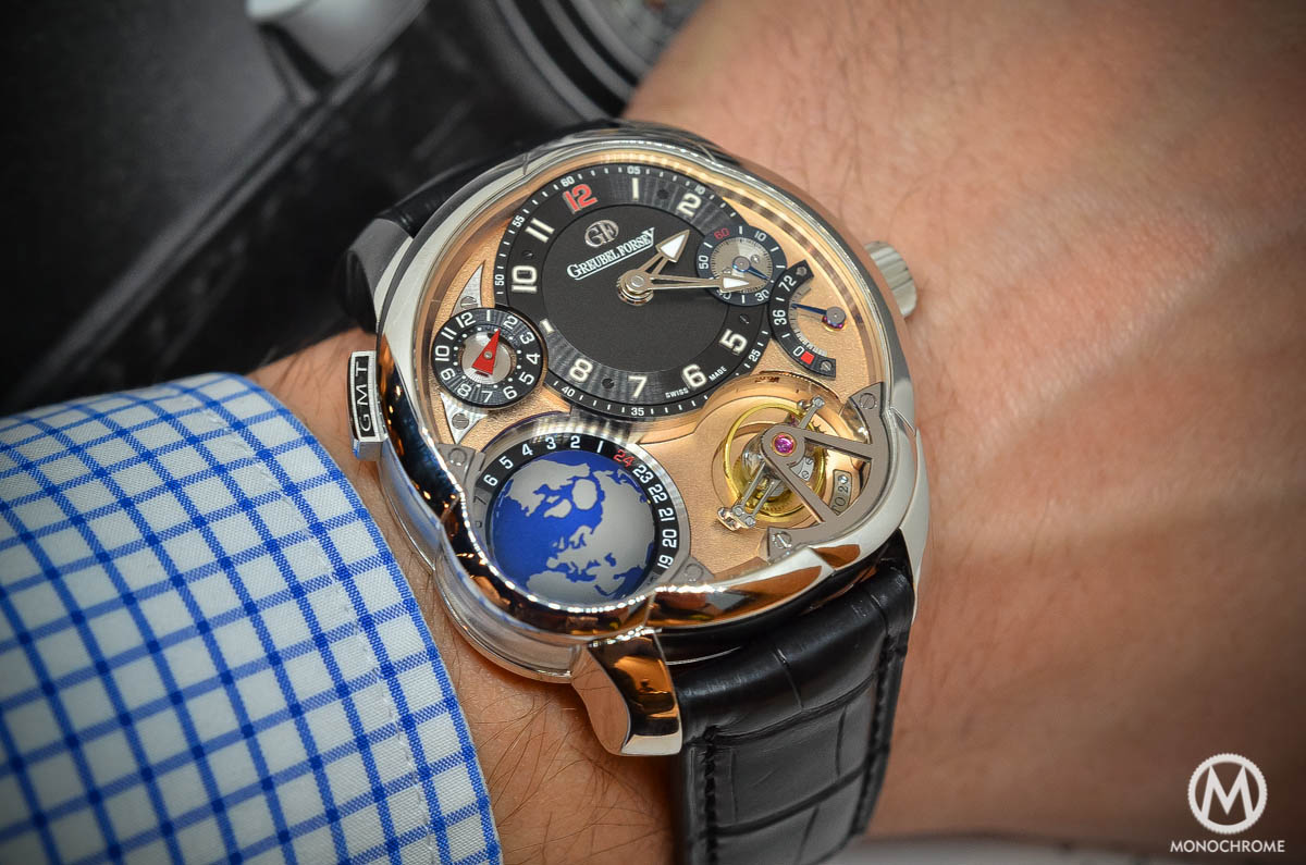 The Greubel Forsey Gmt Rose Gold 5n Movement Platinum
