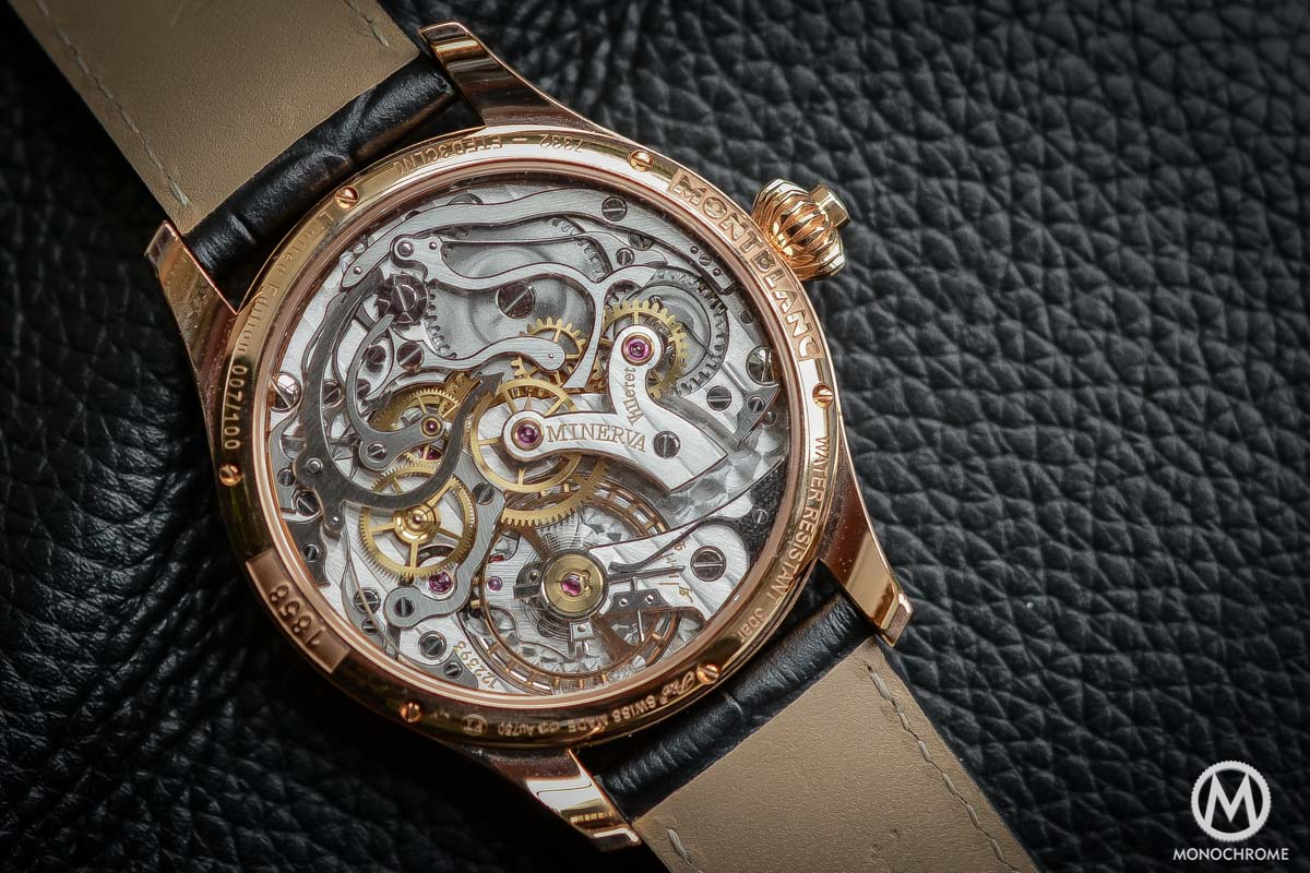 Review of the new Montblanc 1858 Chronograph Tachymeter ...