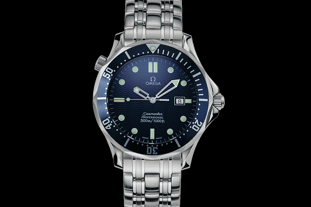 9361fa052d7 Omega Seamaster 300 - Goldeneye 007 James Bond - 1995