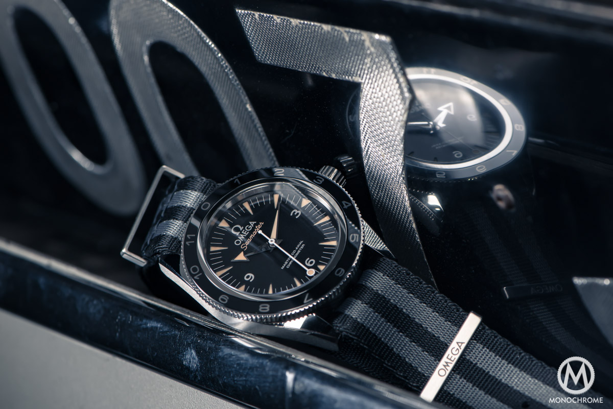 the feeling of being james bond 007 with the omega seamaster 300