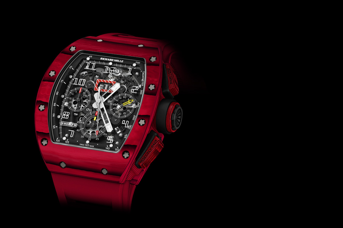 Richard Mille RM 011 Red TPT Quartz automatic flyback chronograph - Cover