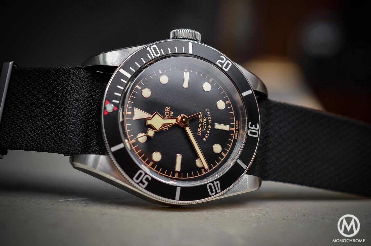 Tudor Black Bay Black Bezel 79220N - case