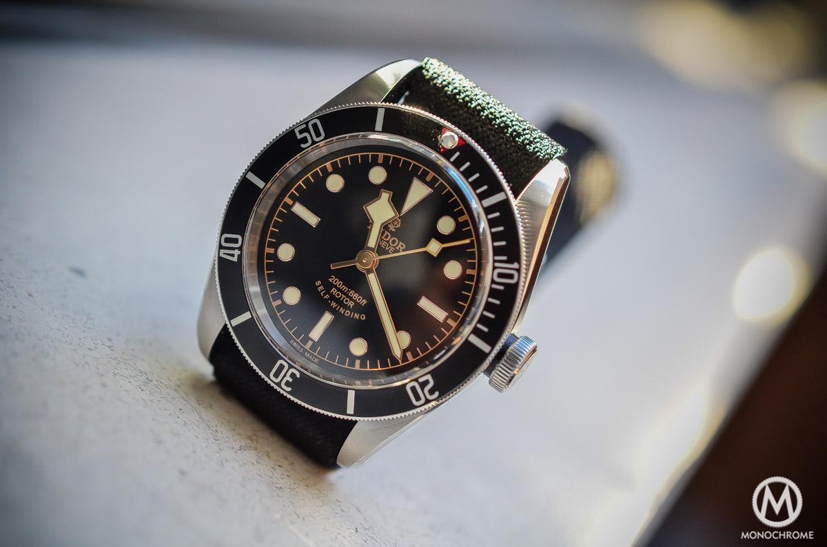 Tudor Black Bay Black Bezel 79220N - lifestyle sunlight