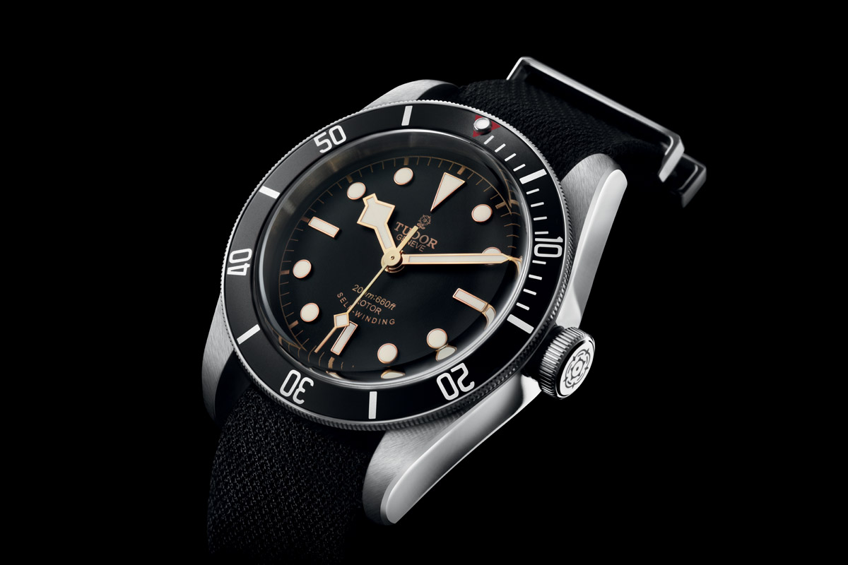 Tudor Black Bay Black Bezel Red Triangle 79220n