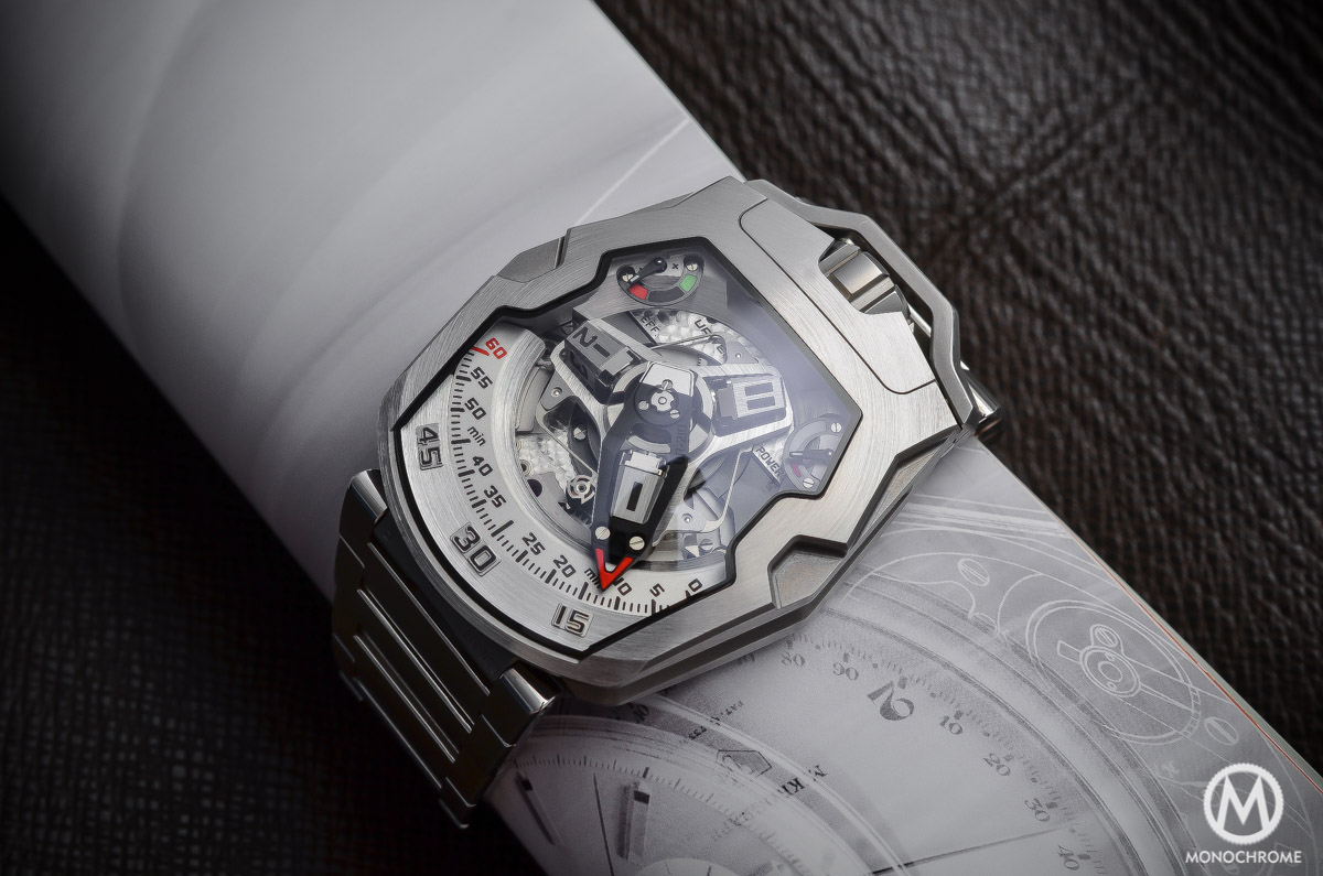 Up Close and Personal With The URWERK UR-210