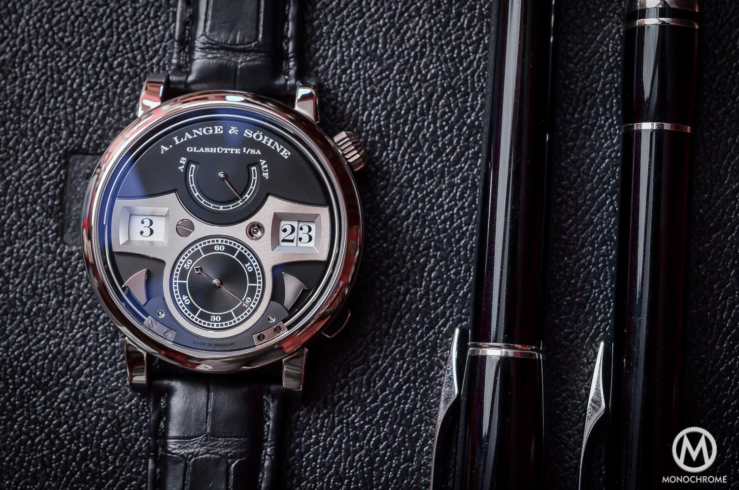 A. Lange & Sohne Zeitwerk Striking Time watch replica