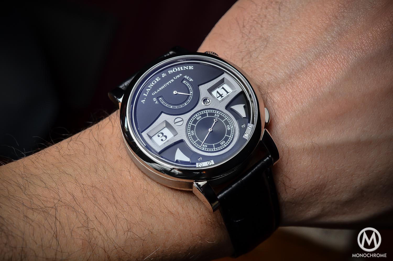 REVIEW – The A. Lange & Sohne Zeitwerk Striking Time (video, live pics & price)