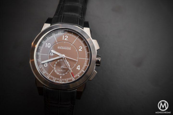 Alexandre Meerson D15 Mk1 GMT Titanium Pacific Coast dial