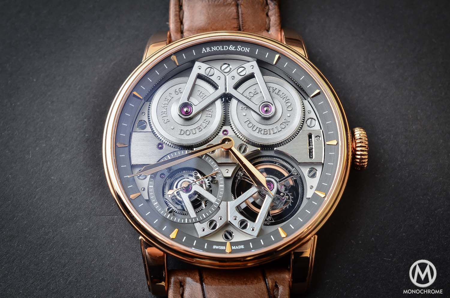 Arnold and Son Constant Force Tourbillon - hands-on review - case