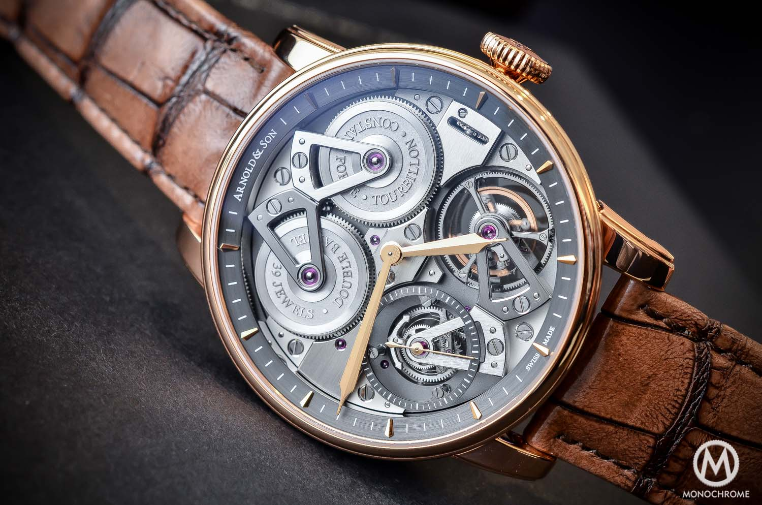 Arnold and Son Constant Force Tourbillon - hands-on review - full case
