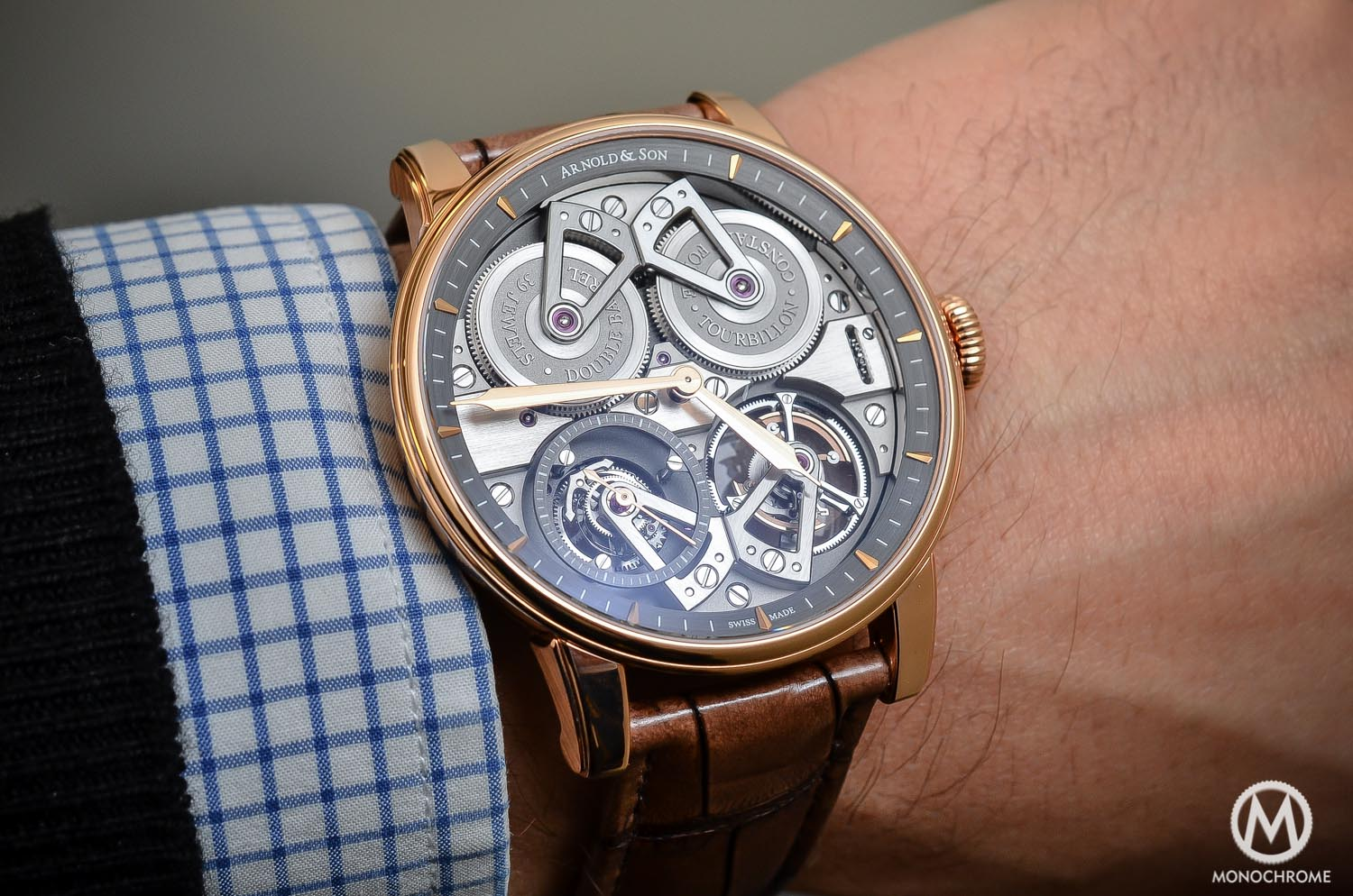 Arnold and Son Constant Force Tourbillon - hands-on review - wristshot