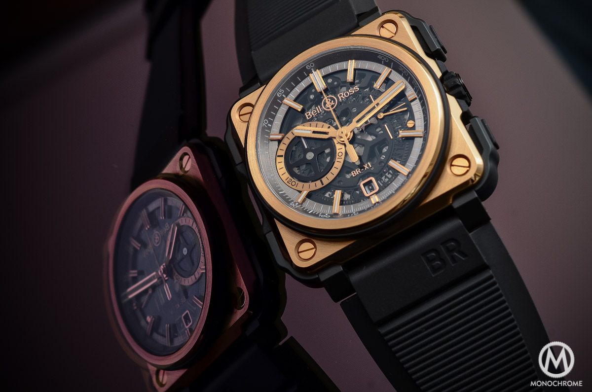 Bell and Ross BR-X1 Pink Gold Black Ceramic Review