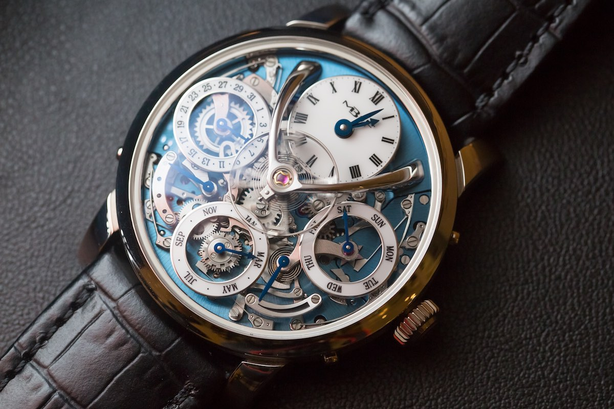 MB&F legacy Machine Perpetual - Credits to The Horophile - platinum case