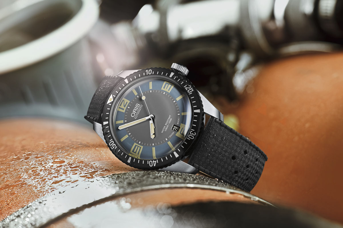 "Introducing the Oris Divers Sixty Five, now in Grey and ""Deauville Blue"" (specs & price)"