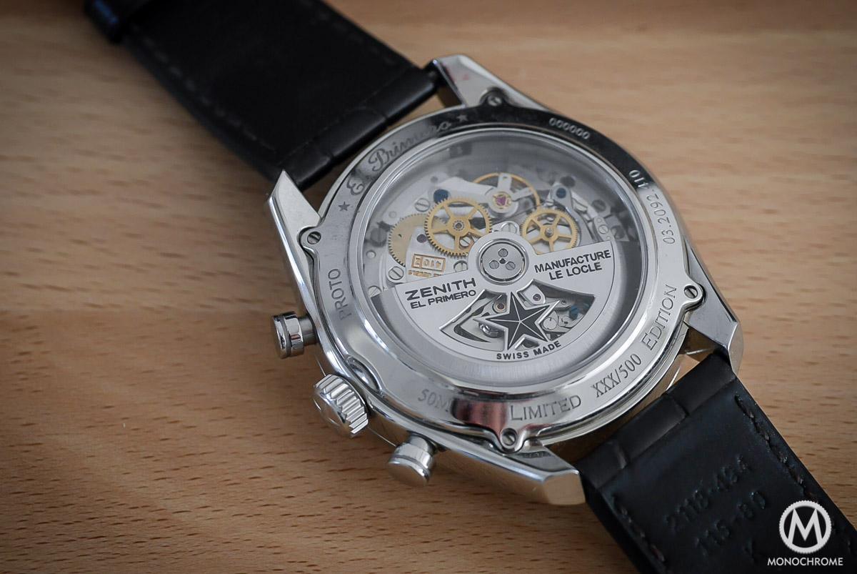 Zenith El Primero 410 Triple Calendar and MoonPhase Chronograph - movement