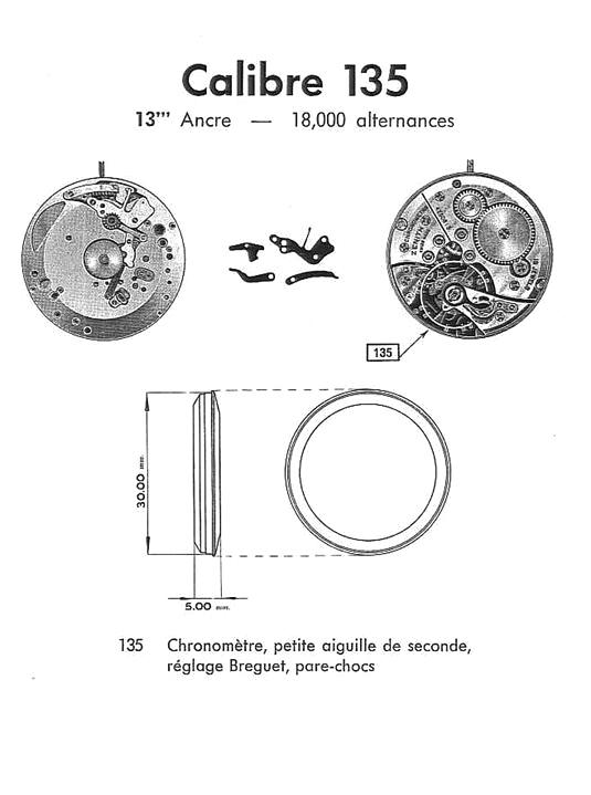 zenith calibre 135 chronometer - 11