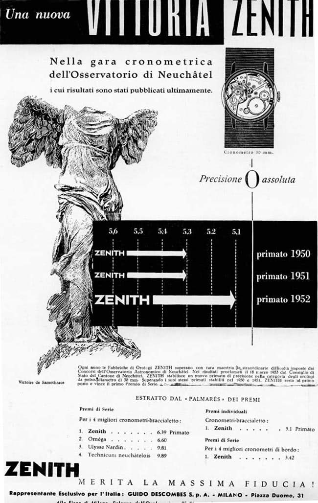 zenith calibre 135 chronometer - 3