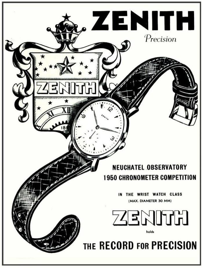 zenith calibre 135 chronometer - 8