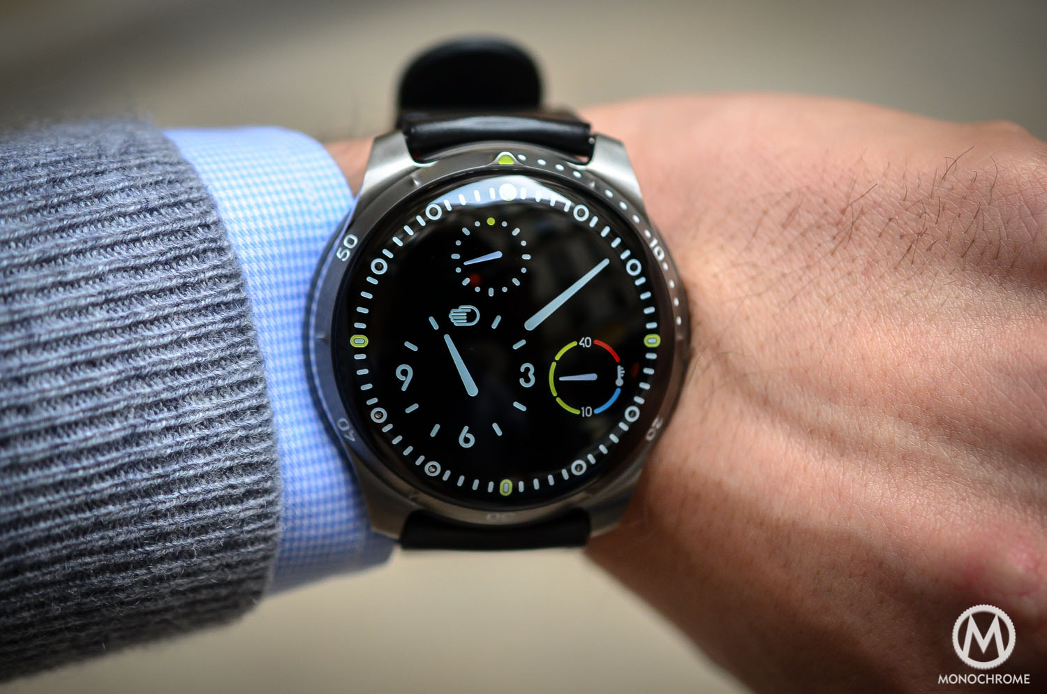 Introducing review ressence type 5 the diver watch with zero reflection underwater live for Under water watches
