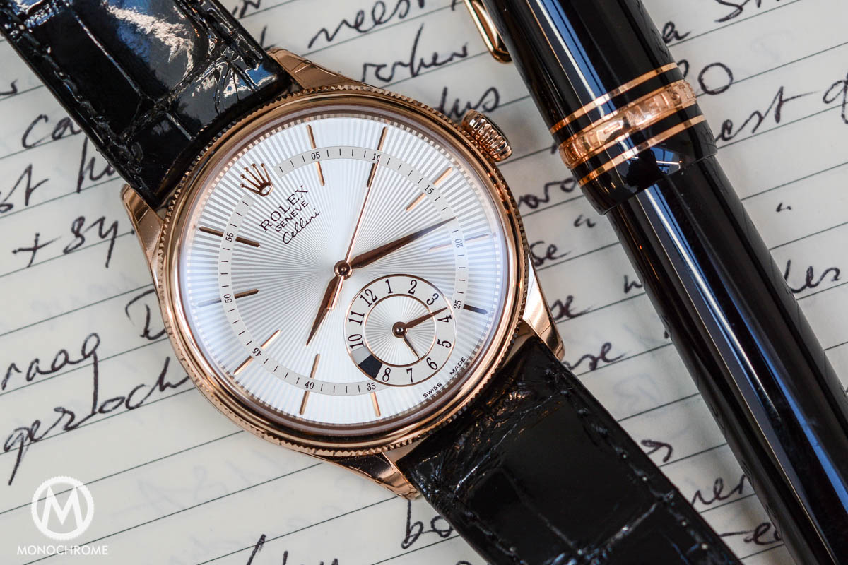 Hands-On Review - Rolex Cellini Dual Time, Everose Gold Ref. 50525