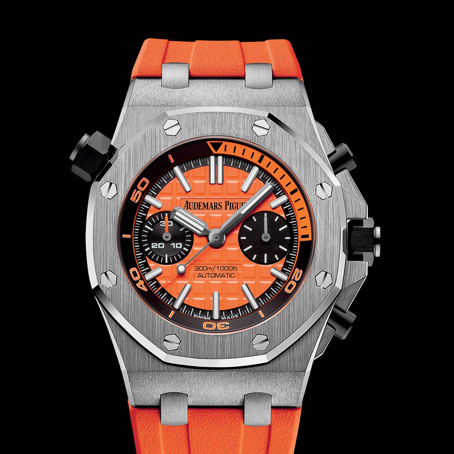 Sihh 2016 audemars piguet royal oak offshore diver chronograph 26703st specs price for Audemars watches
