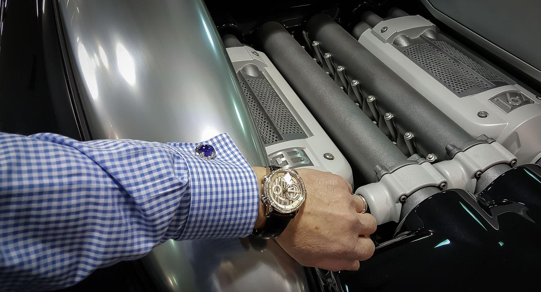 Parmigiani Fleurier Bugatti Atalante Flyback Chronograph