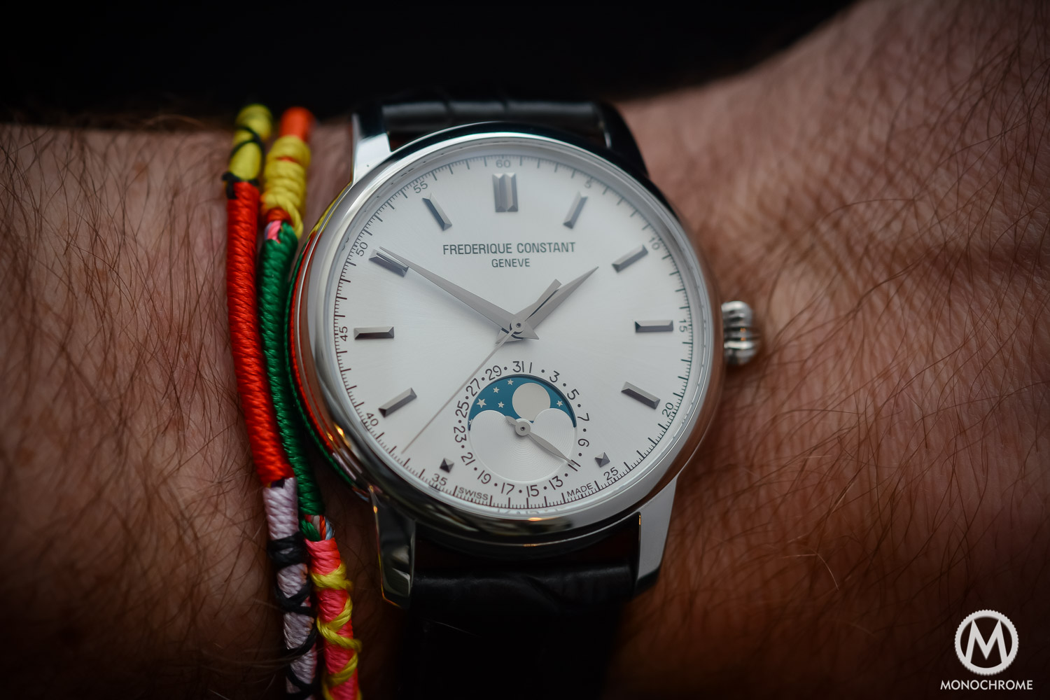 Frederique Constant Manufacture Classics Moonphase stainless steel - 2