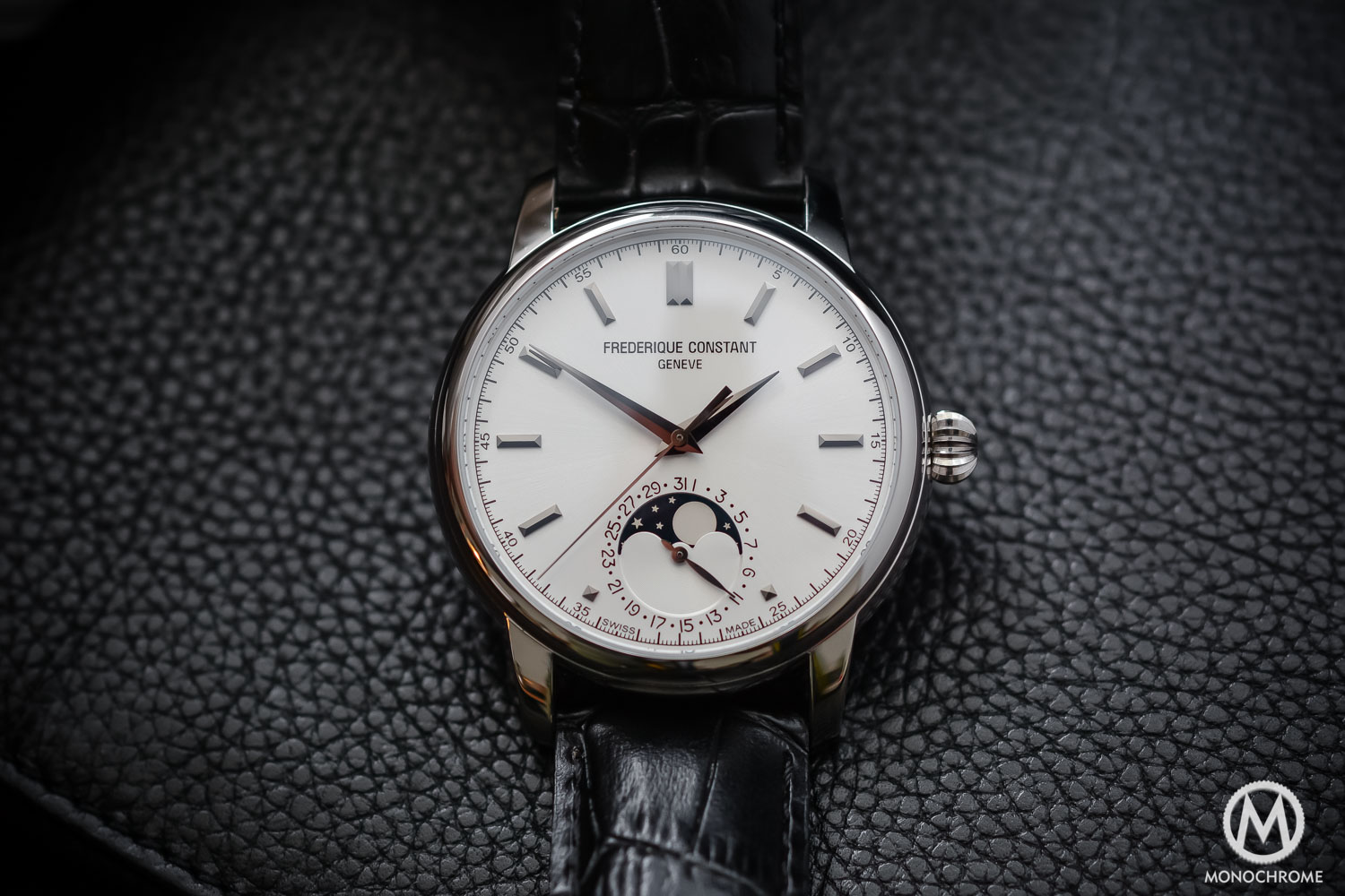 Frederique Constant Manufacture Classics Moonphase stainless steel - 3