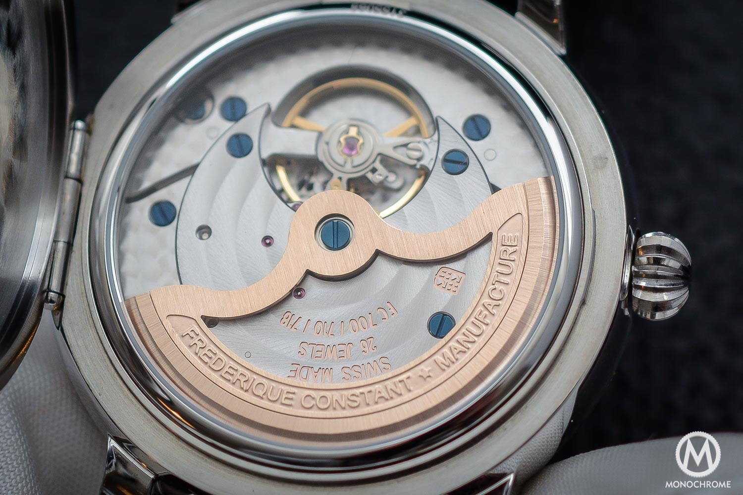 Frederique Constant Manufacture Classics Moonphase stainless steel - 5