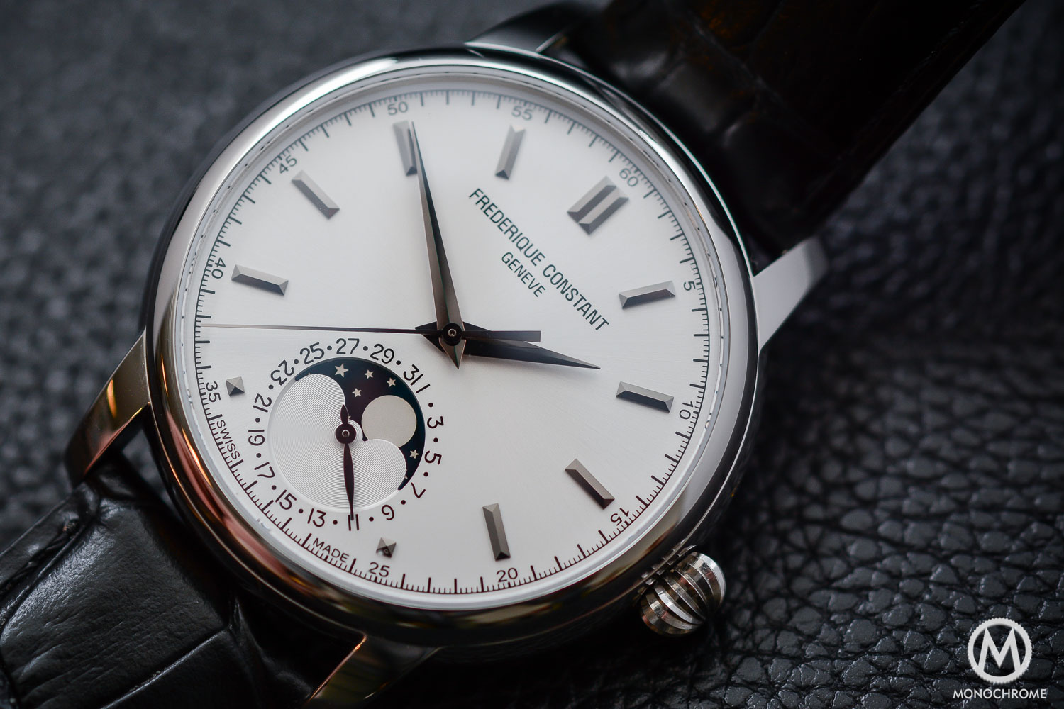 Frederique Constant Manufacture Classics Moonphase stainless steel - 8